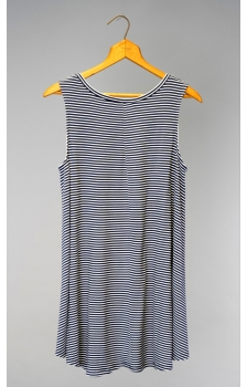 Yarn Dyed Stripe Trapeze Tank *NEW*