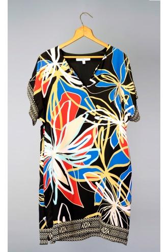 PRINTED SOFT CREPE DRESS *NEW*