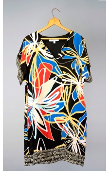 PRINTED SOFT CREPE DRESS *NEW*