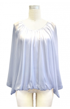 BAT WING CHIFFON BLOUSE